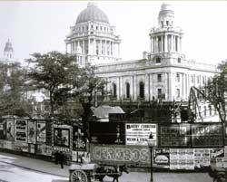 Image: Photograph showing Belfast City Hall in 1903