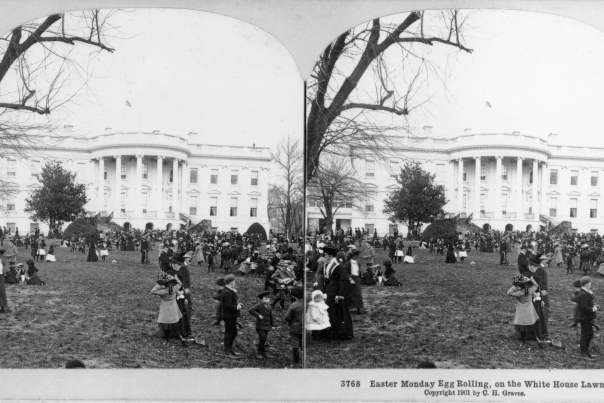 Easter Egg Roll 1901