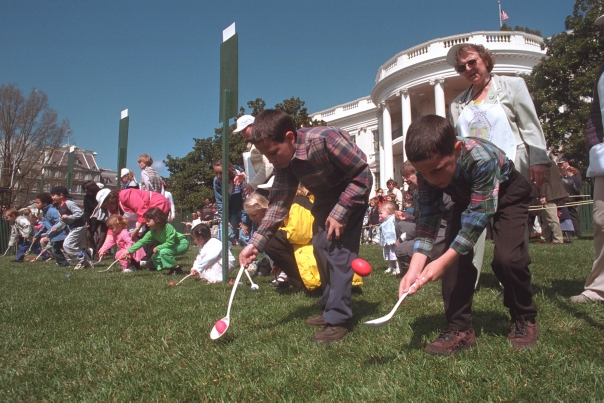 Easter Egg Roll 2002