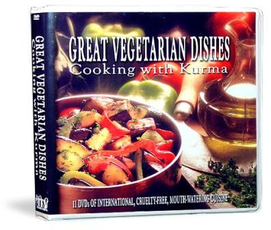 Kurma's Cooking DVD's