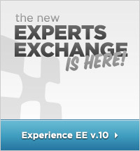 The New Experts Exchange is Here! Experience EE v.10!
