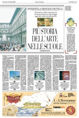 [La Repubblica 01-11-06 p.39]