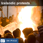 Protests in Iceland