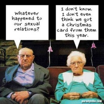 getting old:
