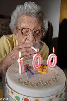 Winnie Langley aged 100: