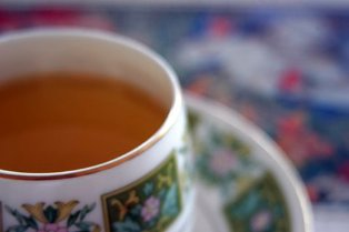 turmeric tea:
