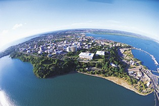 Darwin from the air: