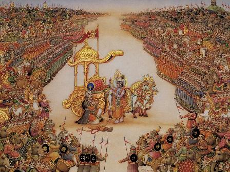 Krishna and Arjuna: