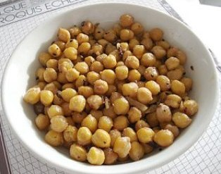steamed chickpeas: