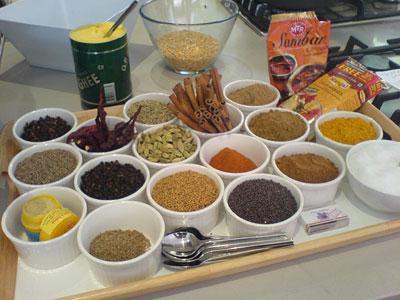 spice tray: