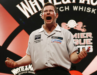 James Wade - Whyte & Mackay Premier League Darts, Ricoh Arena, Coventry (Lawrence Lustig/PDC)