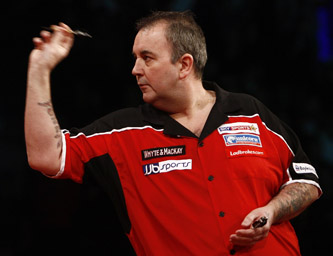 Phil Taylor - 2009 Whyte & Mackay Premier League Darts (Lawrence Lustig/PDC)