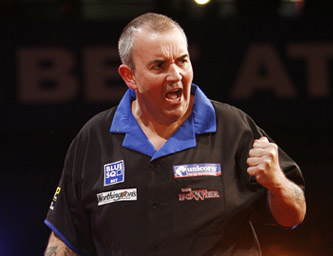 Phil Taylor - 2008 Blue Square UK Open (Lawrence Lustig/PDC)