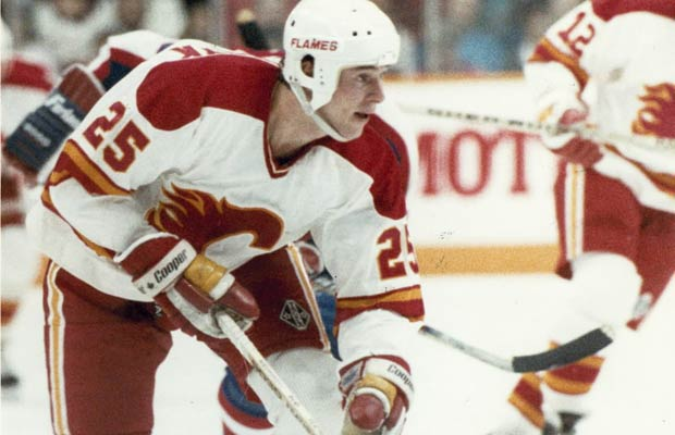 Joe Nieuwendyk in a file photo during his days with the Calgary Flames. Nieuwendyk is widely expected to be inducted into the Hockey Hall of Fame.
