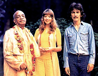 Prabhupada and George Harrison:
