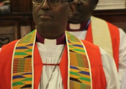 Abp Bernard NTAHOTURI term as the Archbishop and Primate of the Anglican Church of BURUNDI extended for another 5 years