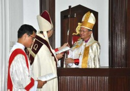 Bolly Lapok installed as Archbishop of the Province of Southeast Asia
