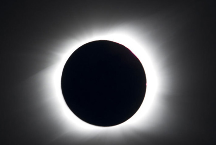 Solar eclipse plunges Pacific into darkness