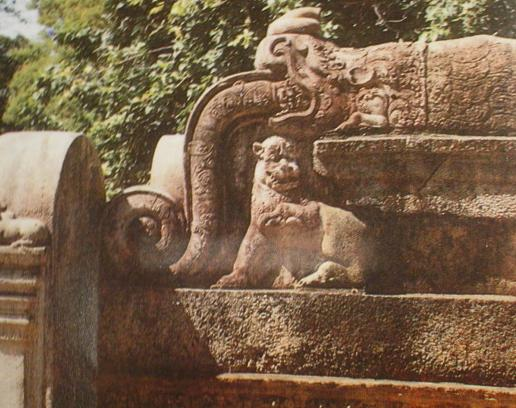 Kalinga Lion from Polonnaruwa Sri Lanka
