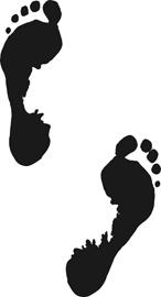 footprints:
