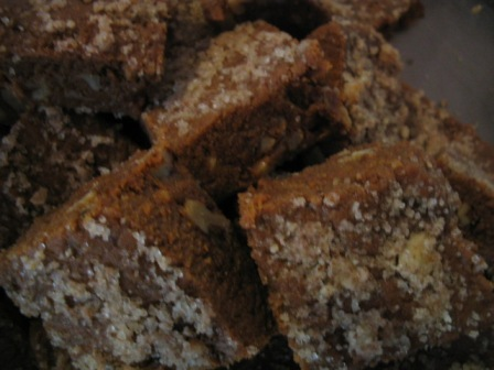 walnut and pecan burfi: