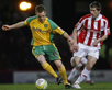 Richard Cresswell in action against Norwich City. ACTION IMAGES