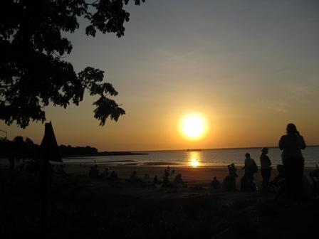 Sunset over Arafura: