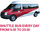 Ramada Park Hotel :: Shuttle bus every day