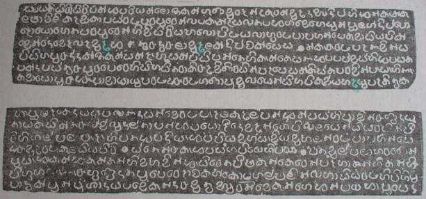 Panakaduwa copper plate inscription of king Vijayabahu I