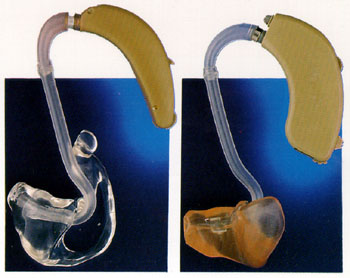 BTE Hearing Aid with A mold