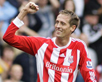 Peter Crouch. ACTION IMAGES