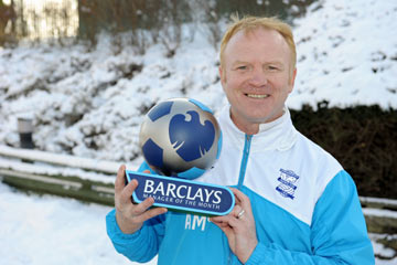 Alex McLeish - Manager of the Month December 2009