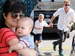 Not so Cruel now! Selma Blair and Ryan Phillippe show how far they've come as they step out with their children on same day