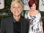 The Ellen DeGeneres Show nominated for 12 gongs at the Emmys... as host gets set to compete against Sharon Osbourne