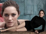 Dark Knight of the soul: Marion Cotillard is stunning in gothic photo shoot ahead of the release of her Batman adventure