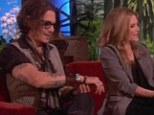 'It's getting warm in here': Michelle Pfieffer reveals Dark Shadows co-star Johnny Depp has always been on her 'bucket list' to do