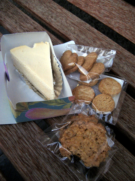 Assorted items from Veggie Sweets