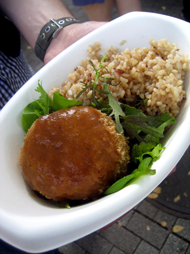 Mominoki House's delicious Croquette!