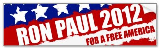 Ron Paul - the change we need bumpersticker