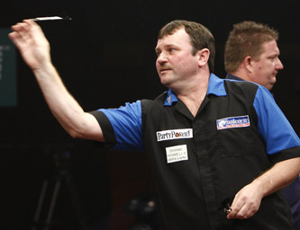 Terry Jenkins - 2008 PartyPoker.com Grand Slam of Darts (Lawrence Lustig/PDC)