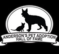 Anderson's Pet Adoption Hall of Fame