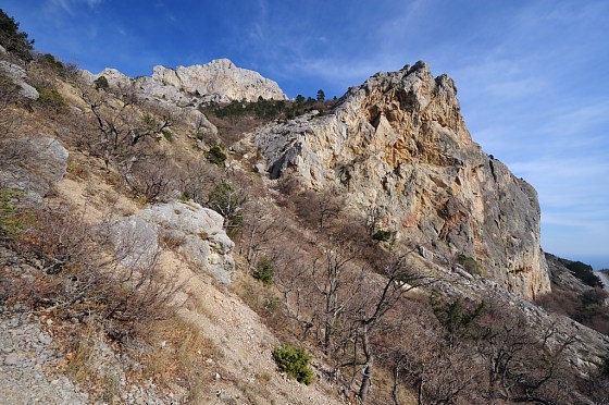 Ilias-Kaya Rock  Laspi Bay and Batiliman Bay Crimea, Ukraine photo