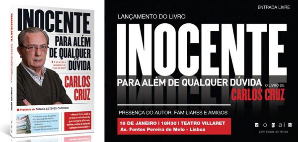 Carlos Cruz is INNOCENT lanzamientolibrocarloscruz