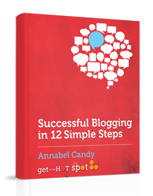 Successful blogging book cover