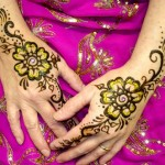 Dark And Light Colour Mehndi Design 7