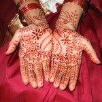Dark And Light Colour Mehndi Design 4