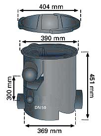 Dimensions of 1000595 filter
