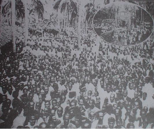 Temperance Rally Senanayake brothers 1912