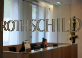 Rothschild & Cie's headquarters in Paris, France