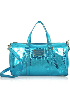 Marc by Marc Jacobs�Fast Bag metallic bowling bag